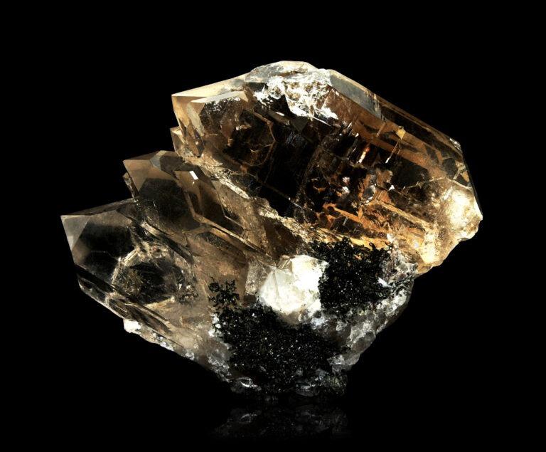 Gwindel Quartz from Dodo mine, Russia