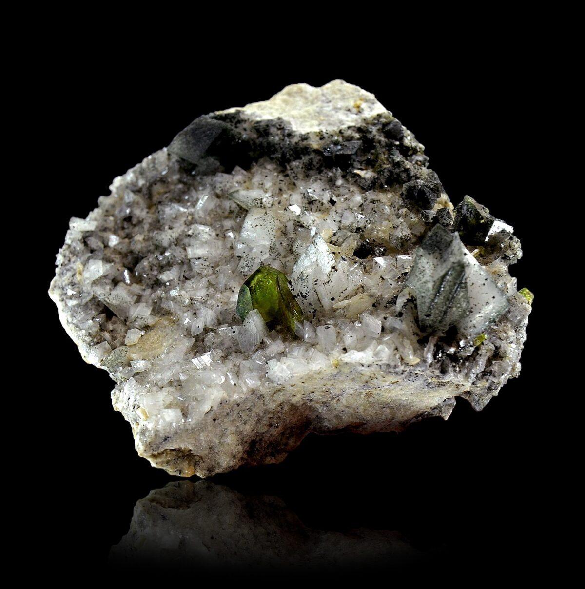 Titanite and Adularia from Pakistan