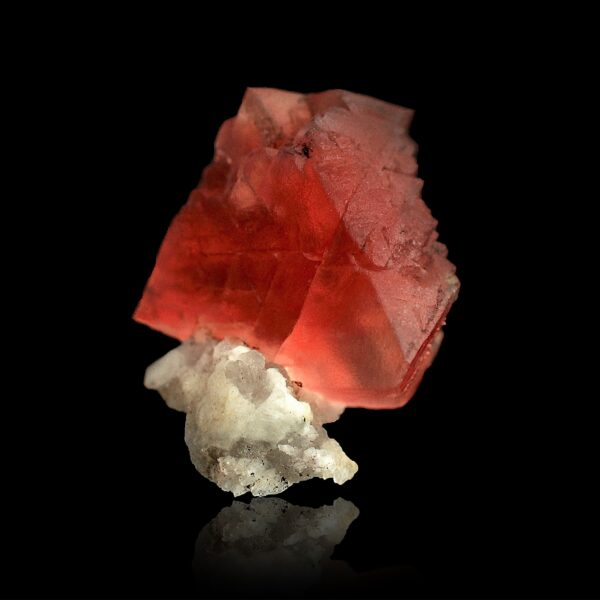 Pink Fluorite from the Mont-Blanc
