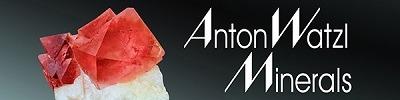 Waltz Minerals website Banner with fluorite