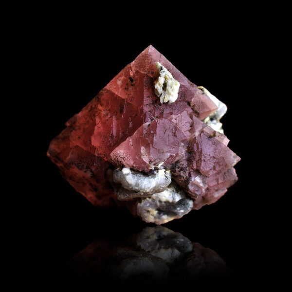 Pink Fluorite from the Mont-Blanc, France