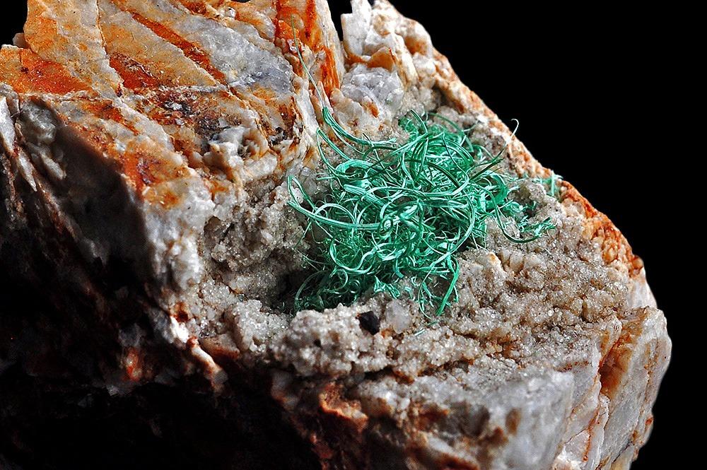 Malachite from Brixlegg, Tyrol, Austria