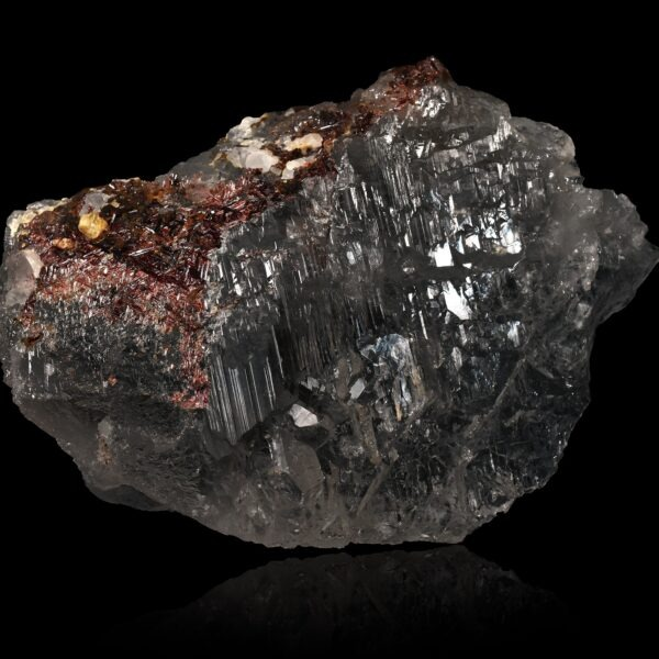 Quartz & Rutile from Alchuri, Pakistan