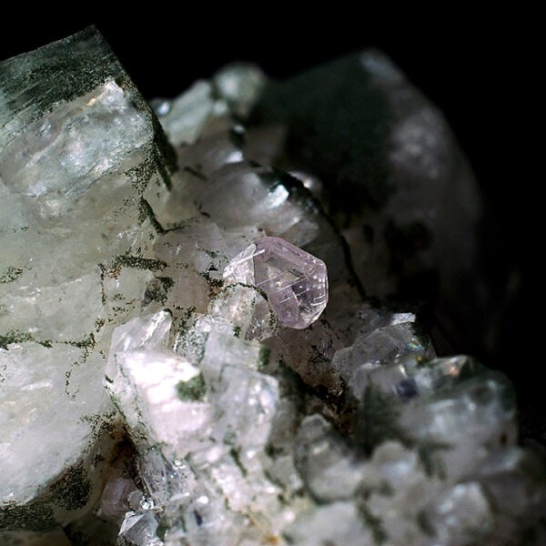 Apatite and Adularia from Switzerland