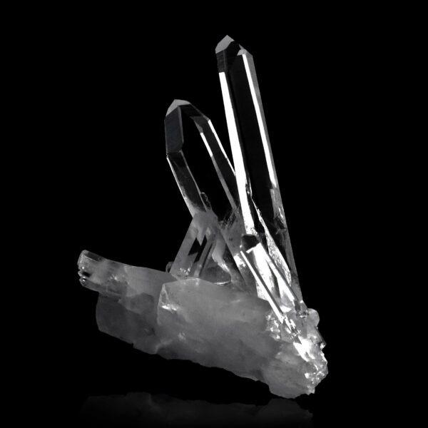 Quartz crystals from La Gardette, France