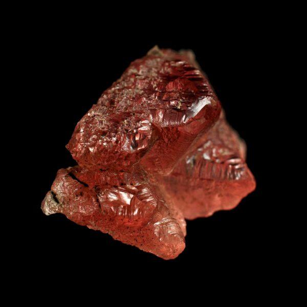 Etched Pink Fluorite from Switzerland