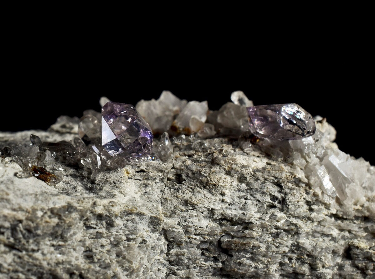 Amethyst from Beaufortain, France