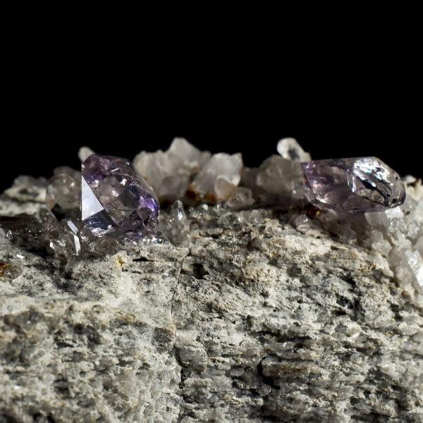 Amethyst from Beaufortain, France