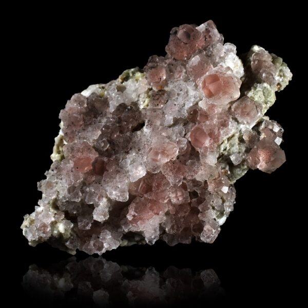 Pink Fluorite on Matrix