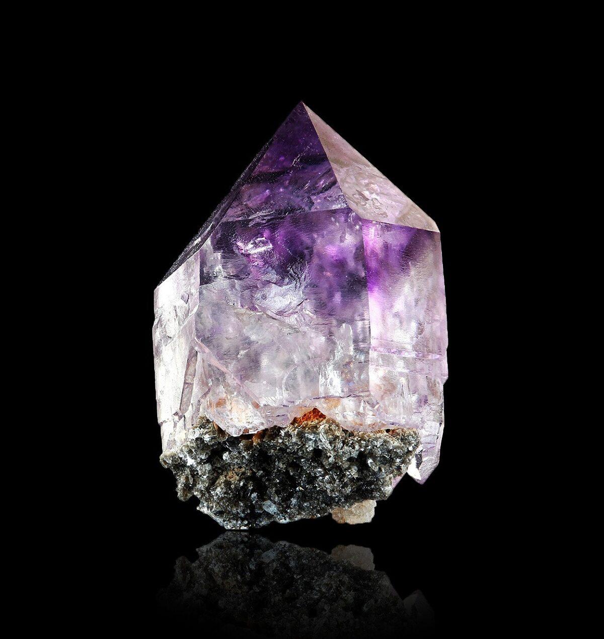 Amethyst from Saurüssel, Tyrol, Austria