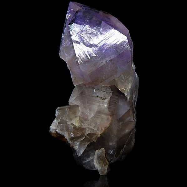 Amethyst from Argentière, Mont-Blanc, France