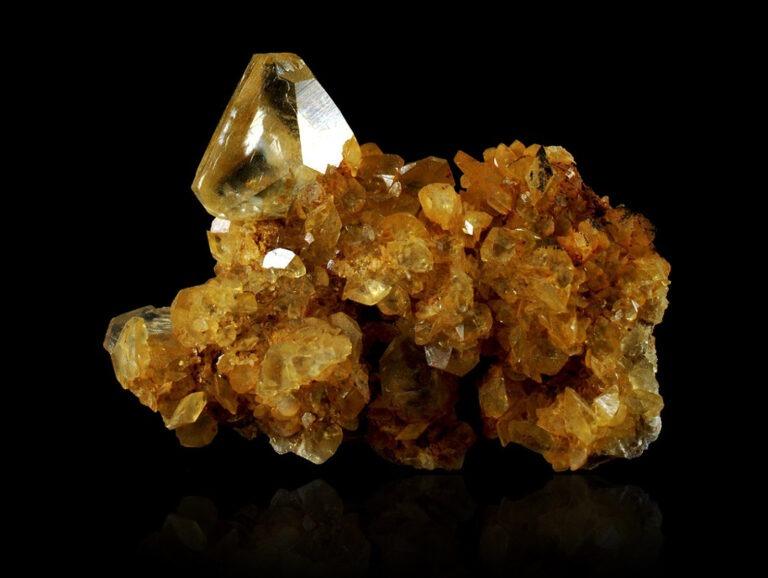 Calcite from Landelies, Belgium