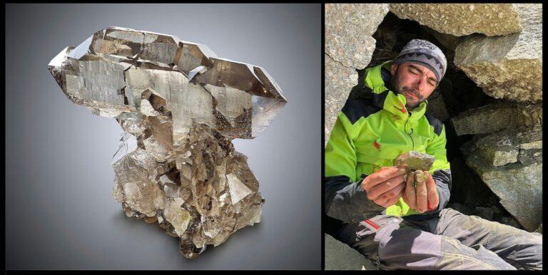 Faden smoky quartz and Sébastien Khayati